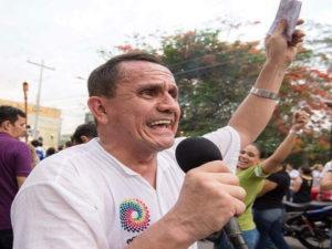 Samuel Madrid regidor municipal por el Partido Libre