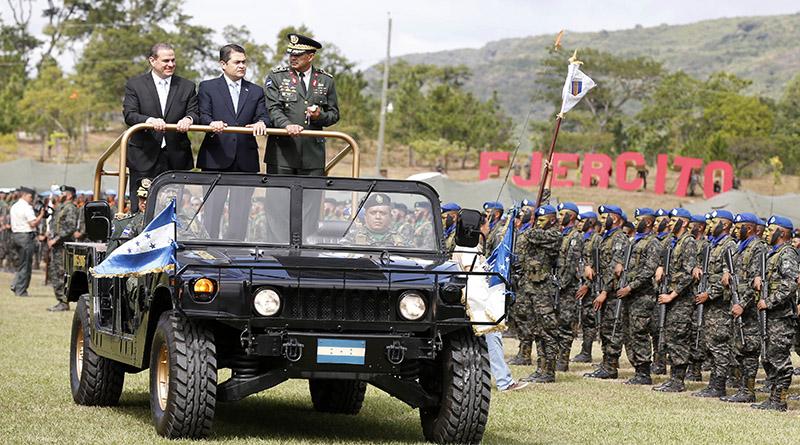 los militares de Honduras