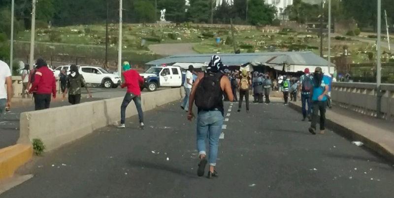 La criminalización de la protesta pública en el código penal en Honduras
