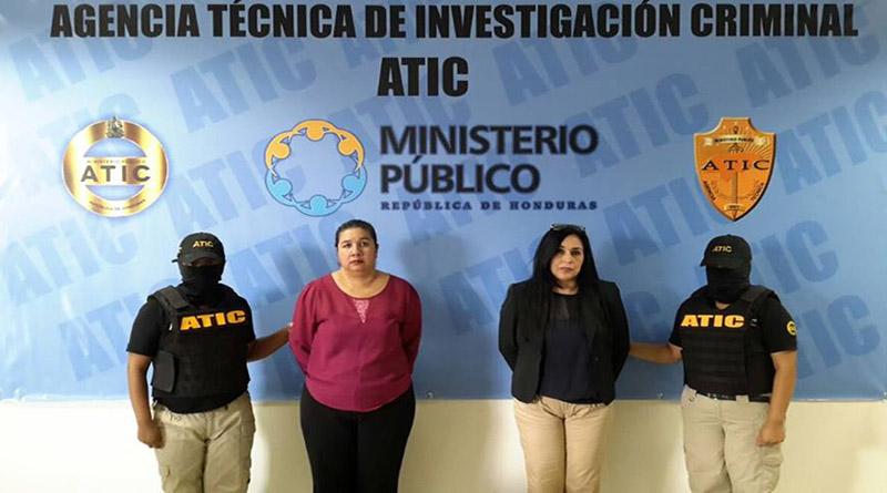 ATIC captura operadores de justicia vinculados a varios delitos