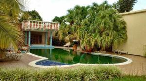 Esta lujosa vivienda se ubica en la ciudad de Catacamas.