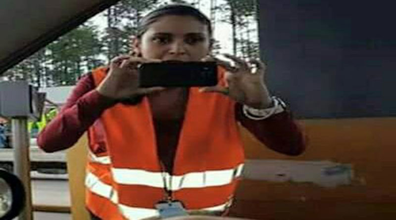 Empleada de COVI intimida tomando fotografías a  quienes  no pagan peaje