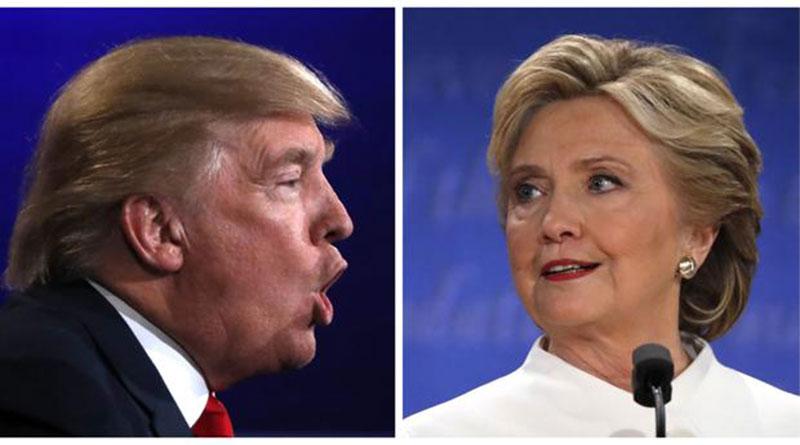 Hillary Clinton y Donald Trump en su recta final a la Casa Blanca