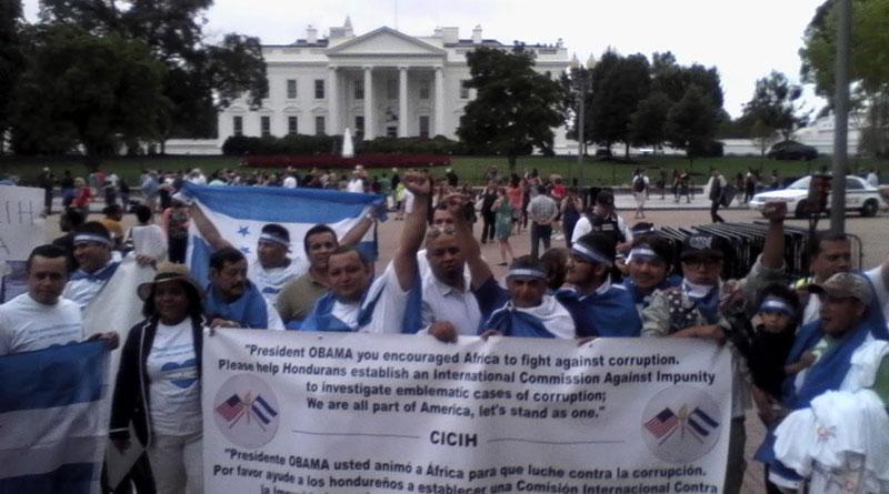 Lo que dijo JOH preocupa a los hondureños en Miami