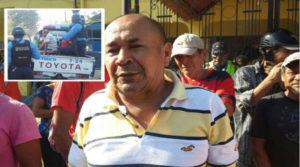 José Ángel Flores recientemente asesiando por sicarios en el Bajo Aguán