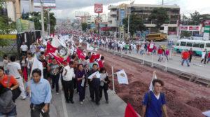 La oposición se manifestó n contra de la reelección presidencial el pasado 5 de agosto.