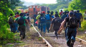 Migrantes centroamericanos camino al sueño americano