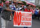 Oposición se movilizará el sábado en contra de la reelección