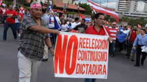 La oposición asegura que será hasta el final contra la reelección presidencial.