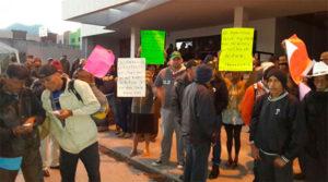 Los propietarios de las tierras de Patuca han realizado un sin número de protestas y aún no han sido escuchados.