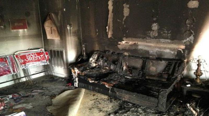 Incendian sede del Partido Republicano en Carolina del Norte