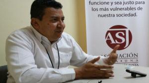 Carlos Hernández presidente de la ASJ.