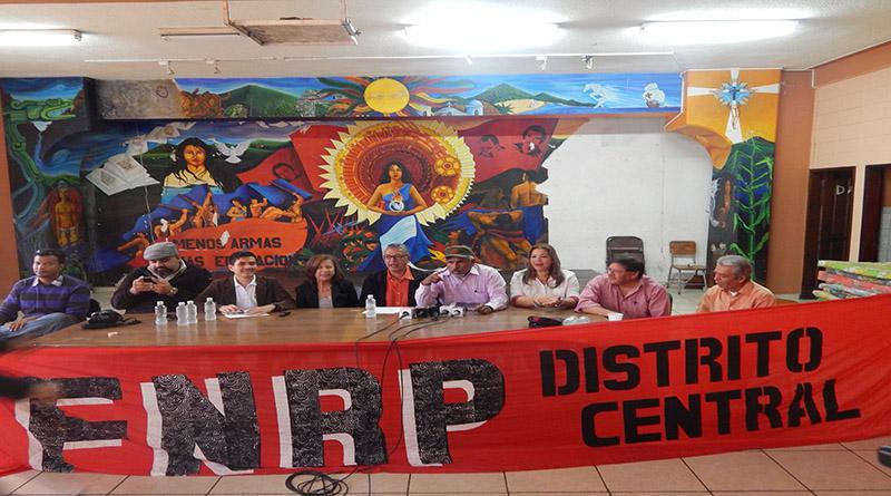Frente Nacional de Resistencia Popular se organiza para iniciar campaña antireeleccionista