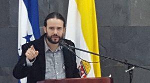 Esteban Ramos Mulsera, coordinador del área de paz del IUDPAS.