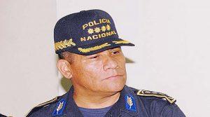 Félix Villanueva, jefe de la policía nacional