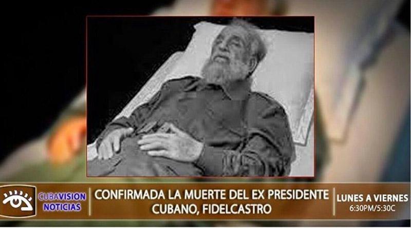 !Ultima Hora¡ Fallece el comandante Fidel Castro,  líder de la revolución cubana a sus 90 años