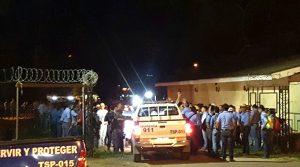 Los estudianmtes de toda la universidad están involucrados y participando en la huelga que repudia el accionar de Marlon Escoto.