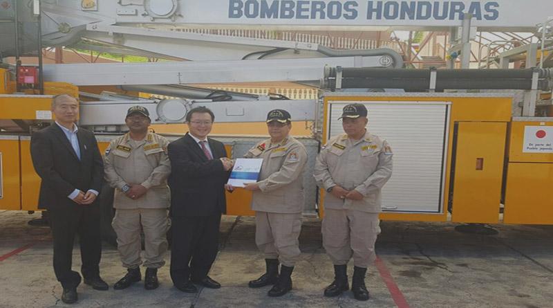 Bomberos de Honduras y JICA firman convenio de cooperación