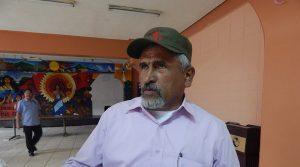 Juan Barahona, coordinador del FNRP.