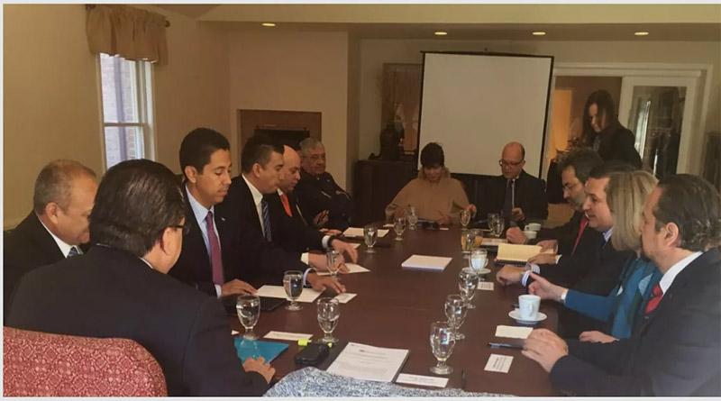 La reunión entre la MACCIH y el gobierno de Honduras