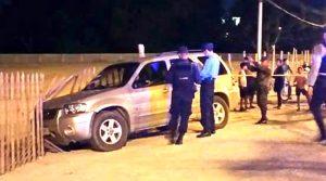 En este vehículo fueron asesinadas las seis personas