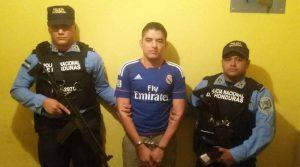 Uno de los capturados en la Operación Panamericano