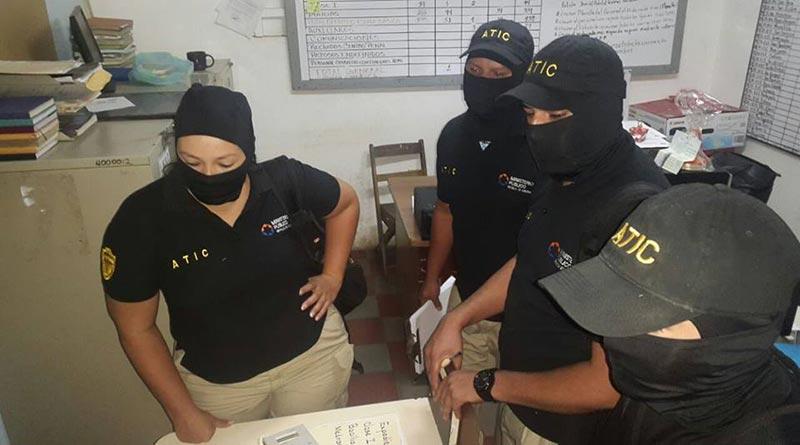 Secuestran documentos de unidad policial de Choluteca