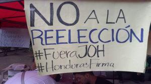 Sondeos de opinión pública muestran que el más del 70% de los hondureños rechaza la reelección presidencial.