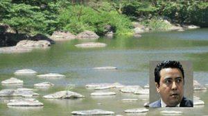 En la imagen el río e iserta la fotografía de Jonathan Laínez.