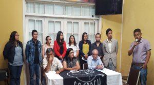 La mayoría de los despedidos estuvieron la semana pasada en el Cofadeh en una conferencia de prensa