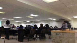 La asamblea extraordinaria del Consejo de Educación Superior se prolongó por más de seis horas.