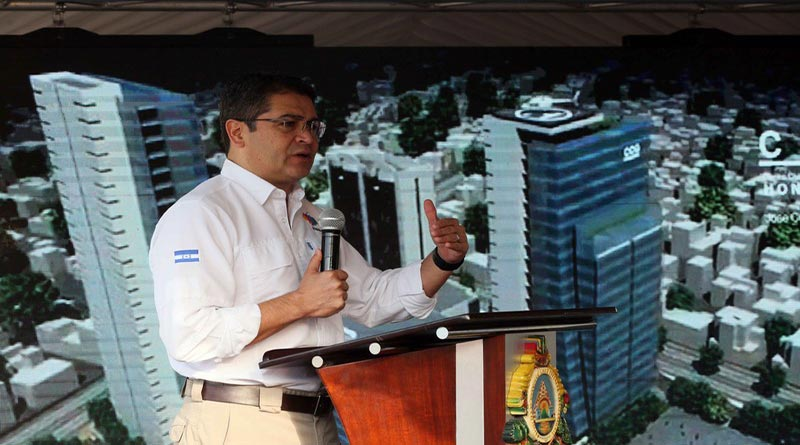 Centro cívico gubernamental que se construye es antipatriótico y nocivo para Tegucigalpa: CAH