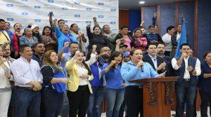 La dirigecia del Partido Nacional asegura contar con el respaldo de 1.5 millones de hondureños.