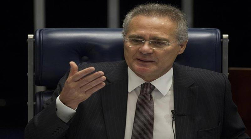 Por supuesta corrupción, suspenden a presidente del Senado de Brasil