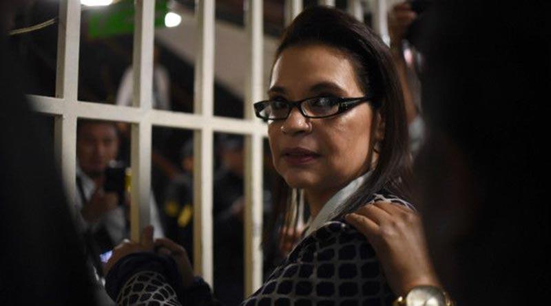 EE.UU. extradición, Roxana Baldetti