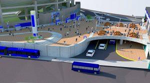 Se decía que rente al Estadio Nacional se construiría la gran terminal de buses y ahora resulta que no tienen donde hacerlo lo que demuestras que el proyecto es una farsa avalada por el BID