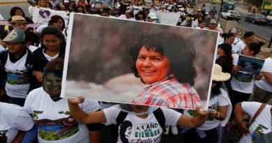 Sentencia a asesinos de Berta Cáceres debe esclarecer estructura criminal detrás de su asesinato