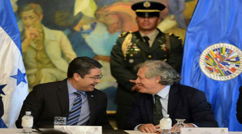 Honduras, dictadura