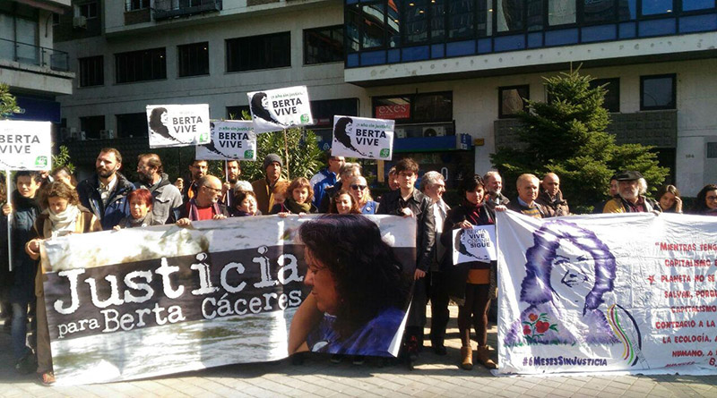 justicia para Berta