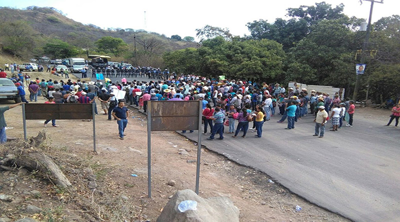 Militares hieren a dos pobladores de Reitoca por defender el agua
