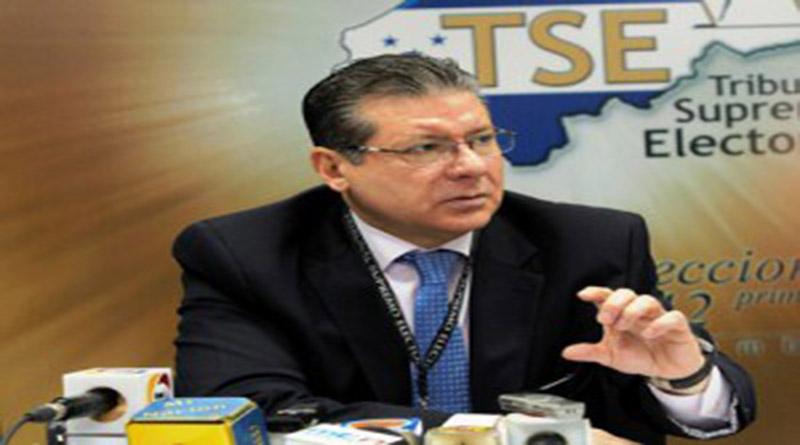 Presidente del TSE pide pruebas sobre colocación de propaganda anticipada del Partido Nacional a periodistas