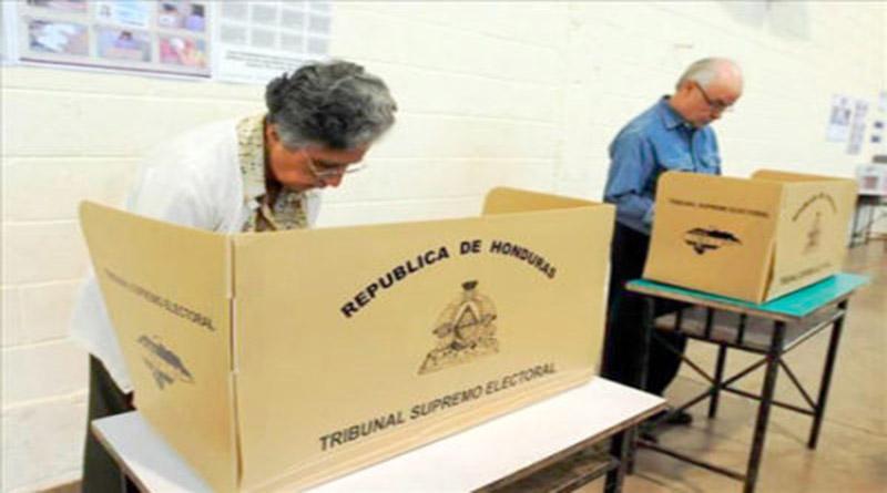 instruir a los votantes en Honduras