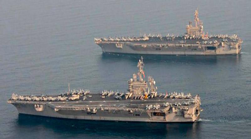Portaaviones de EE.UU. se dirigen a península norcoreana