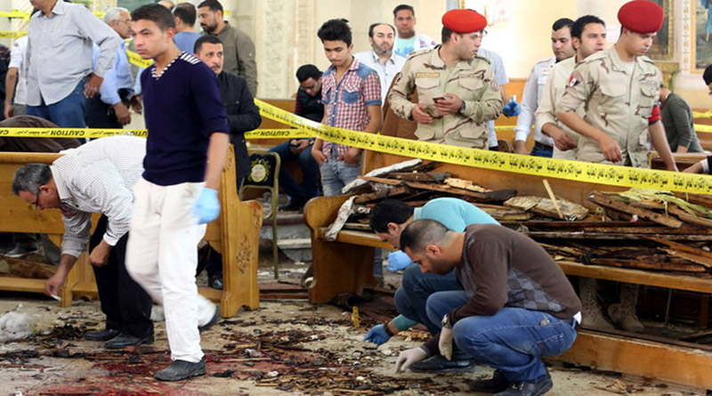 Sangriento Domingo de Ramos en Egipto deja 45 muertos y 110 heridos