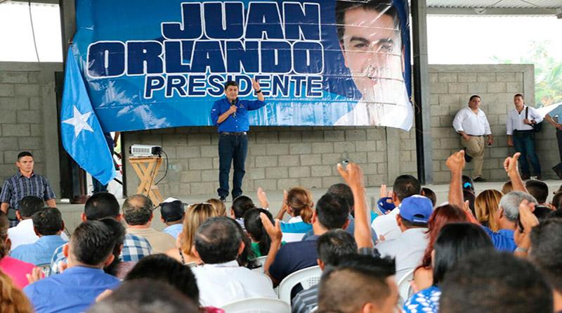 JOH alerta que candidatos a diputados y alcaldes piden no votar por él
