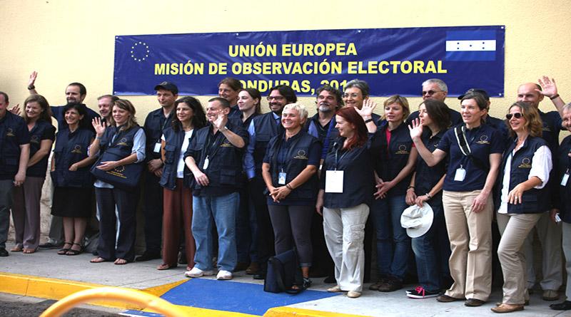 LA Unión Europea preocupada por situación en Honduras, pero obvia hablar del fraude y sus consecuencias