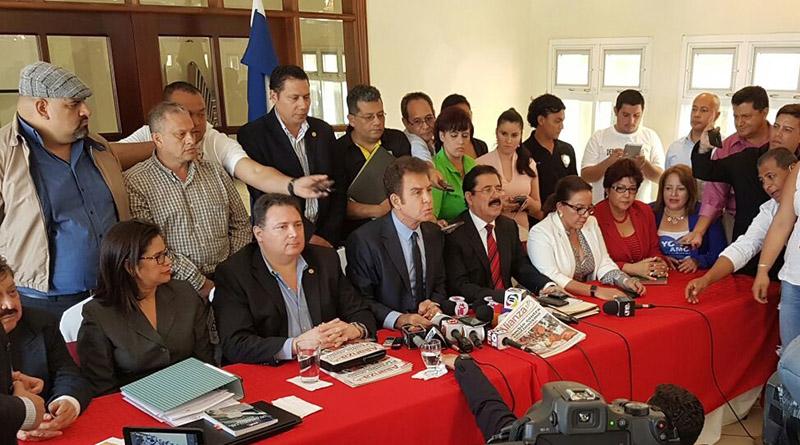 Liderazgo de la Alianza de Oposición demanda intervención de la OEA