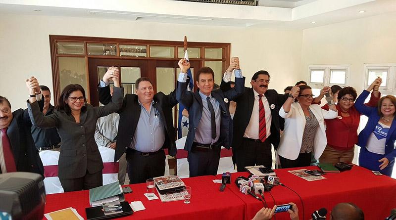 Alianza Opositora no cambiará su nombre ni su emblema: Mel Zelaya