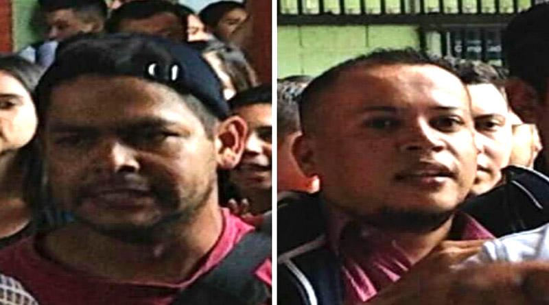 Grupos de choque del Partido Nacional pretenden apuñalar estudiantes universitarios (vídeo)