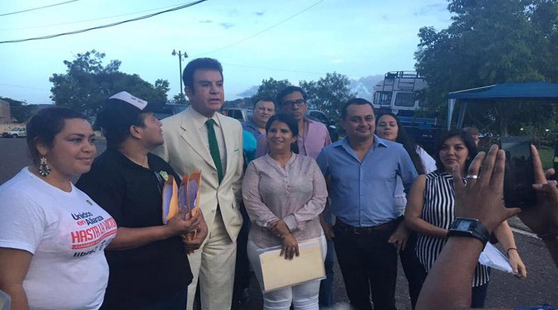 Fátima Mena. alcaldía San Pedro Sula